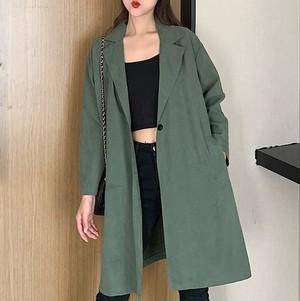 【アウター】ファッションフェミニン2色ロングカジュアルトレンチコート26414536