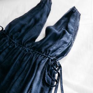 【受注制作】SL-2  Silk lounge-dress