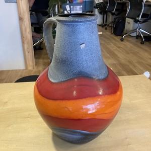 西ドイツ Dumler & Breiden / vintage fat lava vase 壺 Φ360×H500mm