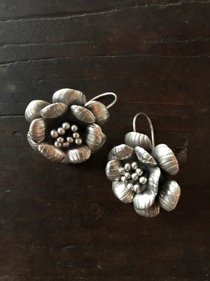 the Karen Hill Tribe flower earring no.237