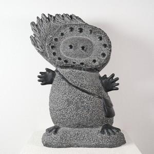田中毅 / 石彫4 太陽の子 日向太(ひなた)