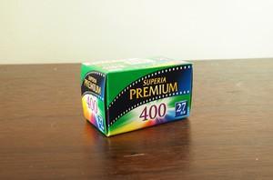 【 35mm カラーネガ 】FUJIFILM( フジフィルム ) SUPERIA PUREMIAMU400 27枚撮り