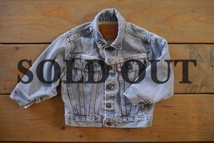 Levi's KIDS vintage denim jacket 3T