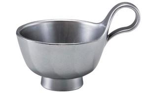 トッティー渦型汁椀 総銀透き