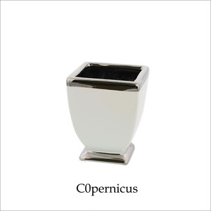 WhiteSilverホワイト /花器/花瓶 浜松雑貨屋 C0pernicus
