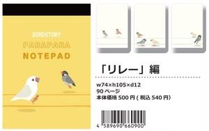 【パラパラメモTube(R)】リレー編(BIRDSTORY)