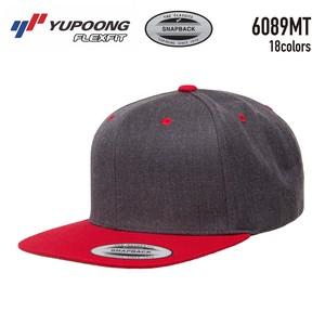 【YUPOONG】6089MT  Premium Classic Snapback(2-Tone)