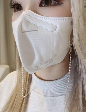 マスク真珠ネックレス