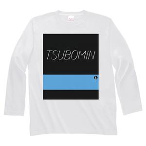 TSUBOMIN / COLOR BAR LONG SLEEVE T-SHIRT #00ABEB