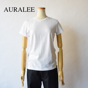AURALEE/オーラリー・Seamless Crew neck tee