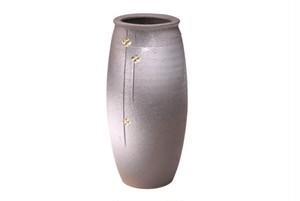 信楽焼かすみ金華 花瓶 G5-5603