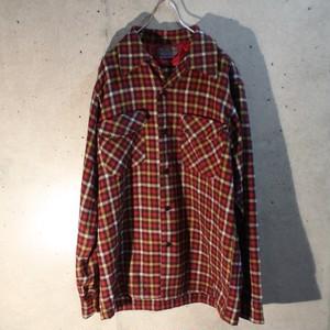 70s Check Wool Shirt