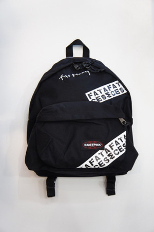eastpak tape backpack -BLACK- / FACETASM