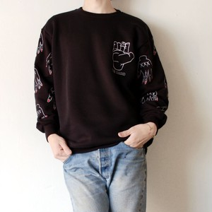 "TABINARY ""chopped fingers"" sweatshirt"