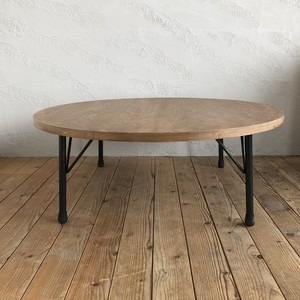 OAK Round Table Low