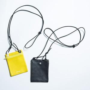 EFFECTEN(エフェクテン) 'utility logo'neck wallet