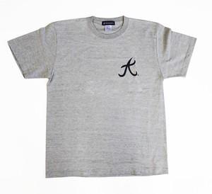 REPRESENT   Tシャツ  大   グレー×ネイビー