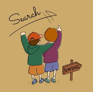 "【SWING】1st mini Album ""SEARCH"""
