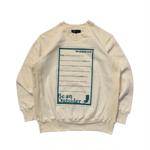 NEWAGE x WHIMSY / BTO CREWNECK SWEATER -NATURAL-