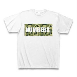 Number8(ナンバーエイト) ロゴスモールダイヤモンドTシャツ(グリーンカモフラバージョン)