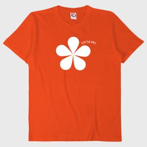 【オリジナルTシャツ】オレンジ(5.6oz. 綿100%)