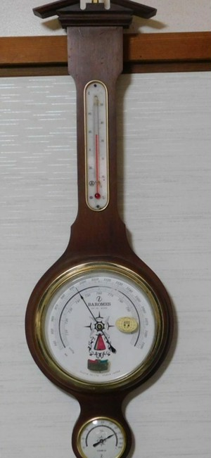 昭和レトロな気象機器