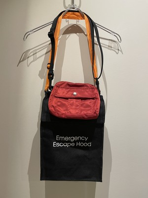 BODYSONG. 21ss EMERGENCYESCAPEPOUCH BLACK ボディソング ポーチ バッグ ブラック