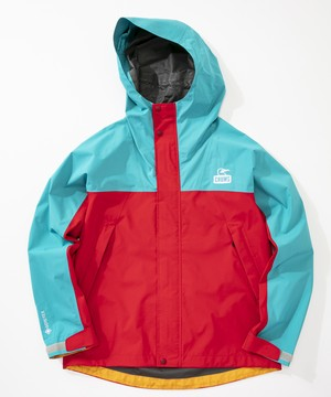 CHUMS Spring Dale Gore-Tex Jacket TEAL×RED(ティール×レッド)