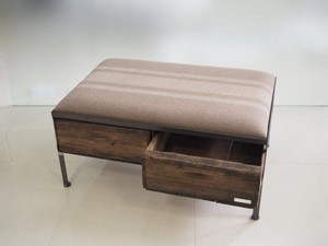 品番UEMW-114  2drawer ottoman[wide/European military blanket]