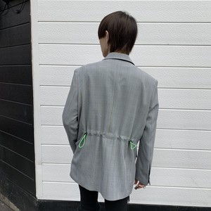 [即納]韓国ファッション BackループストッパーチェックJK