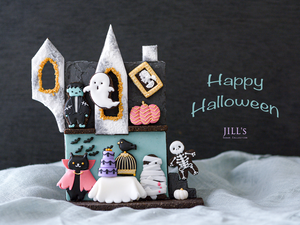 "10/22発送予定""Halloween"" DIY cookie kit & video lesson"