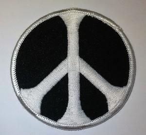 "Patch""Peace symbols"""