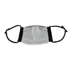 ④メガネが曇りにくく息がしやすいマスク【立体マスク】【黒ちりめん】 [大人用]【全国送料無料】