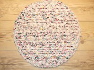 ズパゲッティチェアパッド 35cm丸