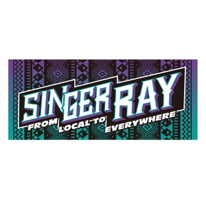RAY OFFICIAL TOWEL 2017(PURPLE&MINT)