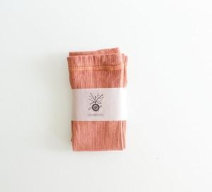絹ロングレッグウォーマー  冷え取り (茜染め)   妊活 温活  出産祝い マタニティー