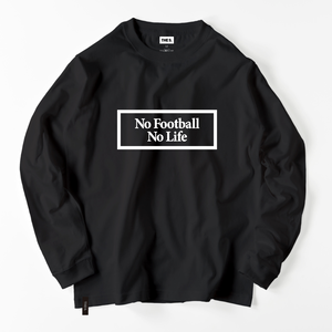 No Football No Life BOX LOGO L/S BLACK