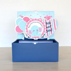 【L】出産祝い ポップアップボックス SWEET