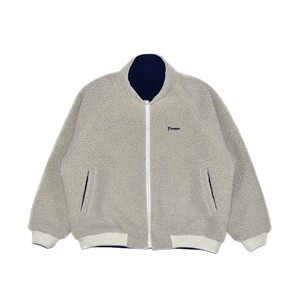 BOA NYLON REVERSIBLE JACKET / WHITE x BLUE
