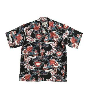 AVANTI SILK オープンアロハシャツ  / Aloha Queen