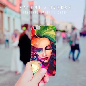 DVERSE × KATHMI(送料込) iPhoneケース(6, 6Plus, 7, 7Plus , 8, X)