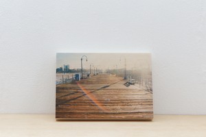 Wood Panel California #6 _ A5