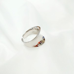 silver925 Simple wide ring[送料無料]/シルバーリング