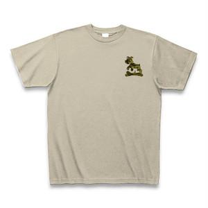 うずまきレザー【UL迷彩】Tシャツ シルバーグレー【送料込み】