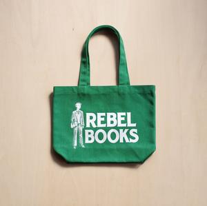 REBEL BOOKSスモールトートバッグ - Green