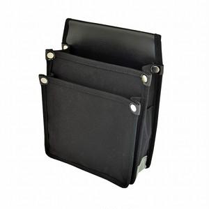 マルキン印 内側ポケット付帆布 YK-01 黒