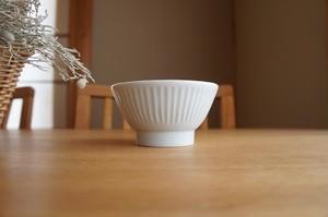 砥部焼/くらわんか茶碗(大)鎬/ひろき窯
