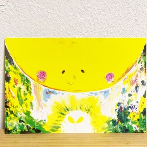 〝hajimari〟postcard