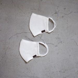 お得な2枚セット:「究極のオーガニックマスク」2層リネンシルクマスク 【bionatural】