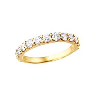 K18YGダイヤモンドリング 010201008999
